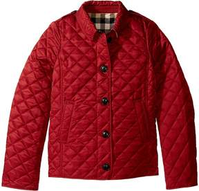 Burberry Ashurst Quilted Jacket Girl's Coat