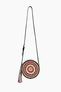 Rebecca Minkoff Straw Circle Crossbody - ONE COLOR - STYLE