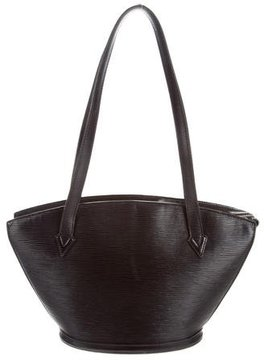 Louis Vuitton Epi St. Jacques Shopping PM - BLACK - STYLE