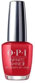 OPI Infinite Shine, Nail Lacquer Nail Polish, Big Apple Red.