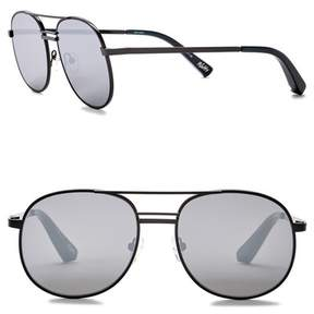 Elizabeth and James Watts 53mm Metal Aviator Sunglasses
