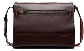 Bally TSP Novo Leather Messenger Bag