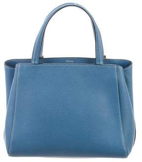 Valextra Leather Triennale Satchel