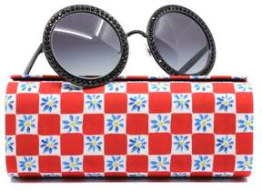 Dolce & Gabbana DG2170B 0 Black Round Sunglasses