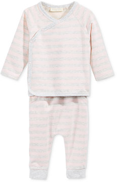 First Impressions 2-Pc. Striped Kimono Top & Pants Set, Baby Boys & Girls (0-24 months), Created for Macy's