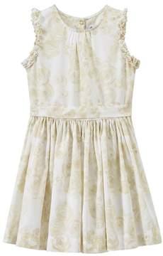 Petit Bateau Girl's sleeveless print dress
