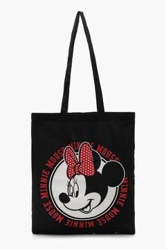 boohoo Disney Minnie Circle Head Tote