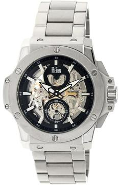 Reign Commodus REIRN4007 Men's Silver Stainless Steel Automatic Watch