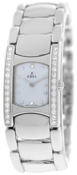 Ebel Beluga 9057A28-10 Stainless Steel Diamond Watch