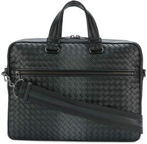 Bottega Veneta gradient spotted briefcase