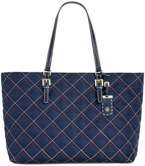 Tommy Hilfiger Julia Triple Quilted Nylon Tote, Created for Macy's