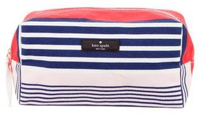 Kate Spade New York Striped Cosmetic Bag