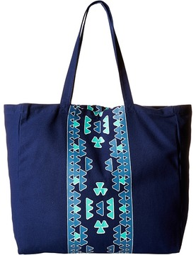 Plush - Soleil Aztec Tote Bag Tote Handbags