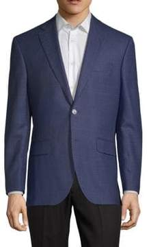 Jack Victor Conway Notch Lapel Wool Jacket