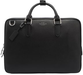Burlington Soft Leather Slim Briefcase