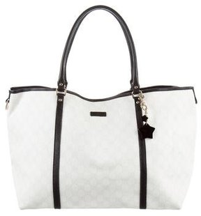 Gucci GG Plus Joy Tote - NEUTRALS - STYLE