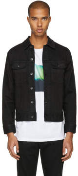 Rag & Bone Black Denim Jean Jacket