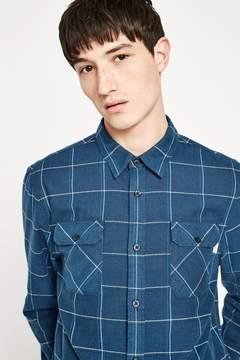 Jack Wills Enmore Lw Slub Check Flannel Shirt