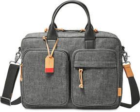 Fossil Men's Defender Top-Zip Briefcase
