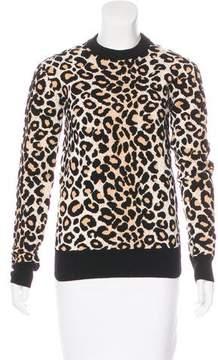 Celine Leopard Knit Sweater w/ Tags