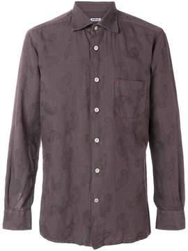 Kiton classic button front shirt