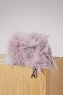 Miu Miu Fur bag strap