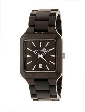 Earth Wood Arapaho Dark Brown Bracelet Watch with Date ETHEW3602