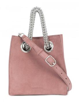 Alexander Wang Genesis Suede Chain-Handle Bag