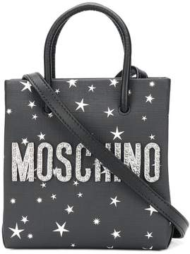 Moschino space bear print mini bag