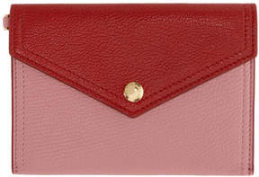Miu Miu Pink and Red Envelope Pouch