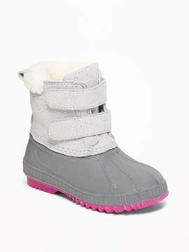Old Navy Sparkle Snow Boots for Toddler Girls