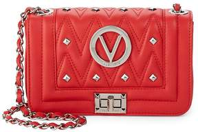 Mario Valentino Valentino by Women's Beatriz Studded Quilted Leather Crossbody