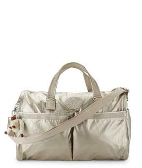 Kipling Itska Metallic Duffel Bag