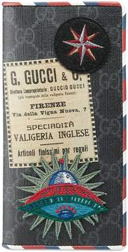 Gucci Night Courrier GG Supreme long wallet