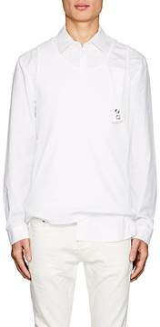 Helmut Lang Seen By Shayne Oliver Men's Cotton Poplin Shirt