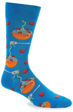 Hot Sox Meatball Crew Socks