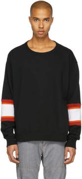 Facetasm Black XXL Rib Sweatshirt