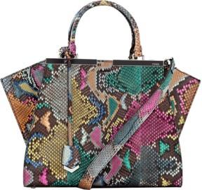 FENDI 3Jours Python Shopper Bag