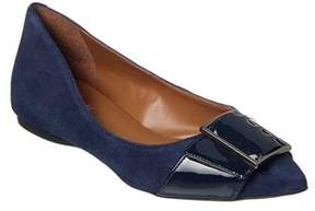 French Sole Sassy Suede Flat.