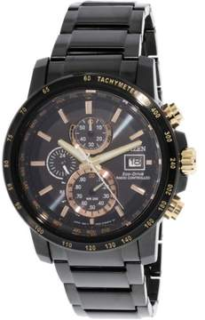 Citizen Men's AT8127-85F Black Stainless-Steel Eco-Drive Fashion Watch