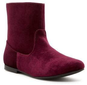 Nina Kellee Velvet Short Boot (Little Kid & Big Kid)