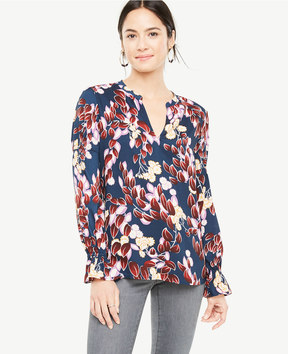Ann Taylor Tall Pretty Petals Blouse