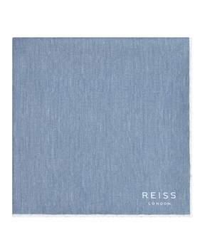 Reiss Fernando Silk Pocket Square