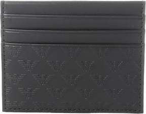Emporio Armani Quilted Card Holder Wallet