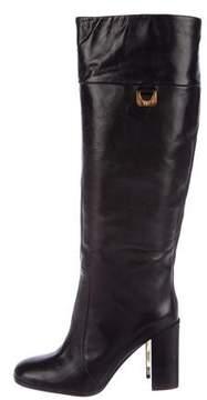 Diane von Furstenberg Leather Knee-High Boots