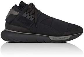 Y-3 Men's Qasa High Neoprene & Leather Sneakers