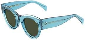 Celine Petra Green Cat Eye Sunglasses CL41447S MR8QT