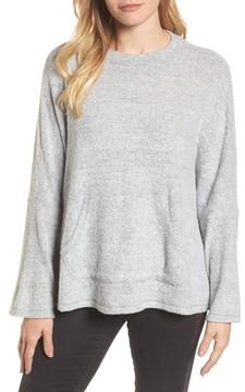 Caslon Women's Cozy Split Back Pullover