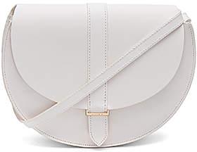 Clare V. Luce Bag in White.