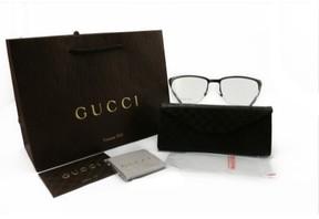 Gucci Gg-2265-R80-55-18-140 Eyeglasess Silver Semi Rimless Metal
